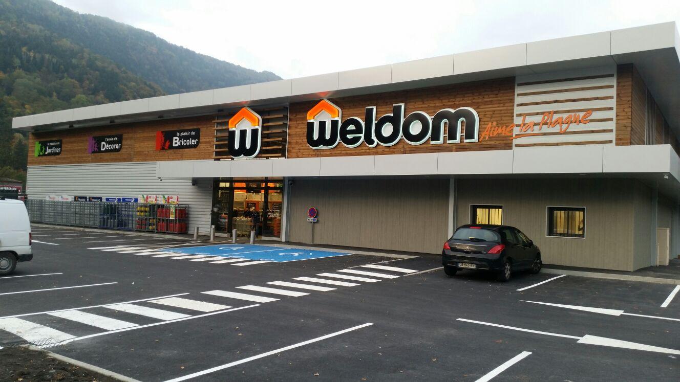 ouverture du magasin weldom de aime ce mercredi 19 octobre